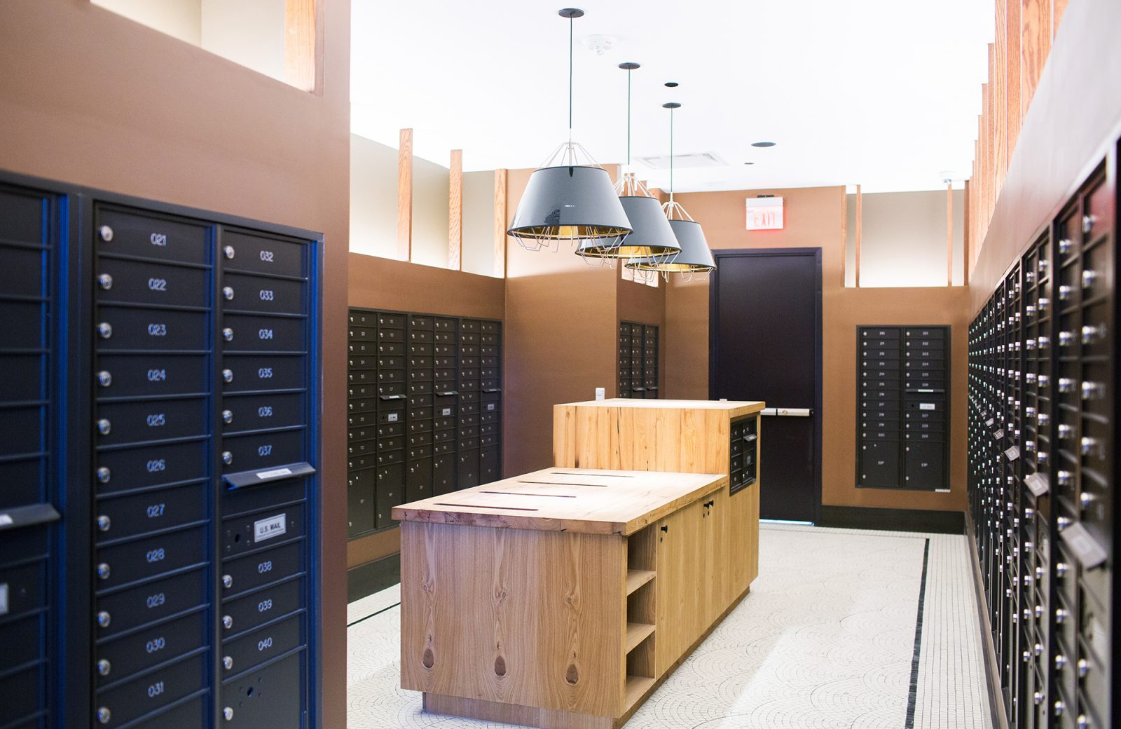 Features and Amenities - Mail Room
